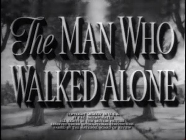 Ο άνθρωπος που περπατούσε μόνος του