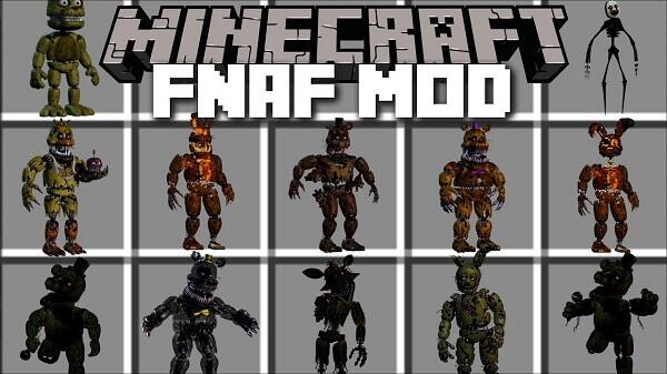 Minecraft ΠΕΝΤΕ ΝΥΧΤΕΣ ΣΕ MOD FREDDYS