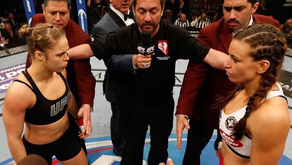 RONDA ROUSEY EERSTE AFBEELDINGEN SINDS 2E UFC