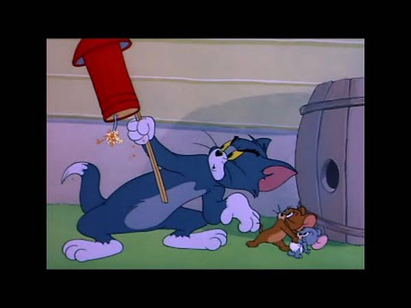 YouTube Tom e Jerry - Safety Second (51 episodio)