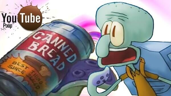 Squidward e l'epidemia di pane in scatola