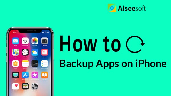 Backup Apps on iPhone