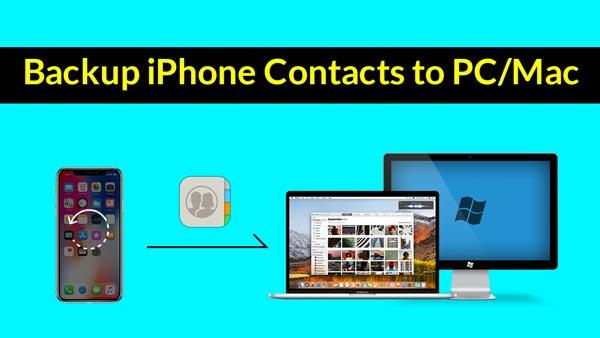 Najłatwiejszy sposób na tworzenie kopii zapasowych kontaktów iPhone'a na komputerze PC / Mac