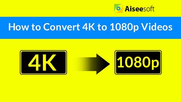 Wideo Konwertuj 4K na 1080p