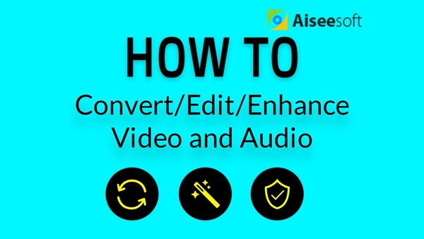 Conversione video Modifica Migliora audio video