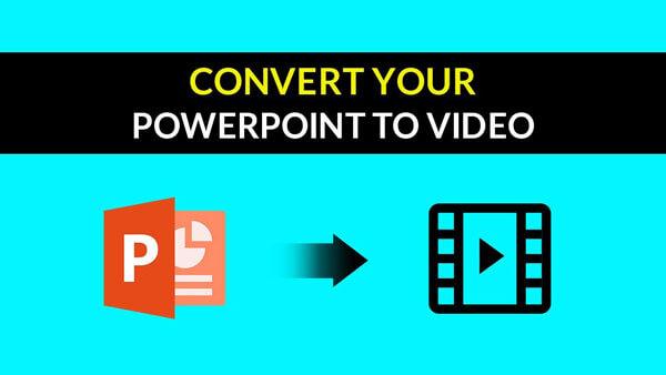 Βίντεο Μετατροπή PowerPoint σε βίντεο