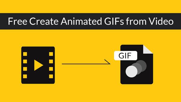 使用免費的視頻到GIF轉換器從視頻文件創建動畫GIF