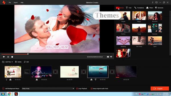 Slideshow Creator - Καλύτερο λογισμικό δημιουργίας διαφανειών βίντεο και φωτογραφιών 2020!