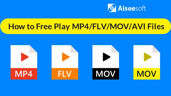 Wideo Free Play MP4 FLV MOV AVI