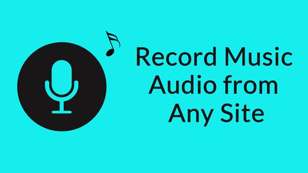 Registrazione video di musica da qualsiasi sito