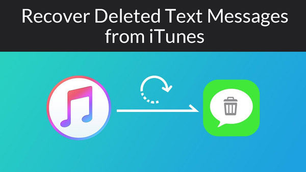 Recover Deleted Text Messages from iTunes