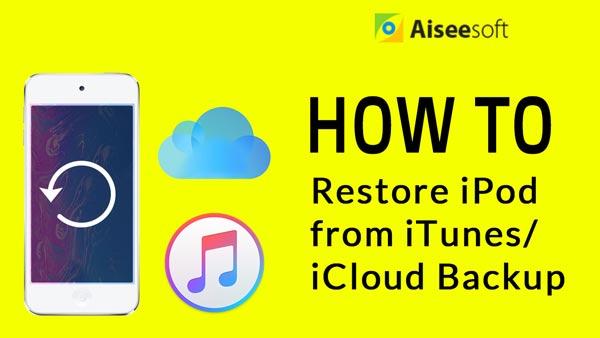 Przywracanie wideo iPoda z iTunes iCloud