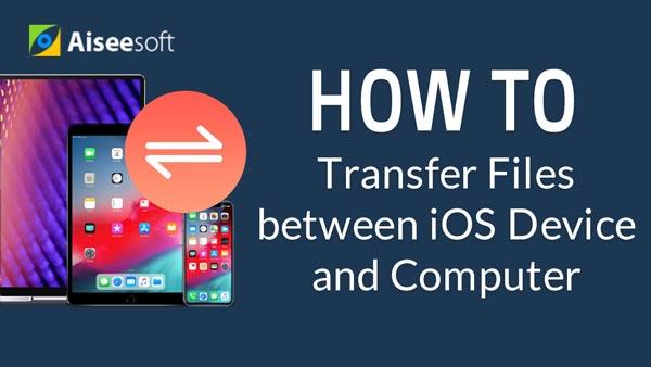 Przesyłaj pliki między urządzeniem iOS a komputerem bez iTunes