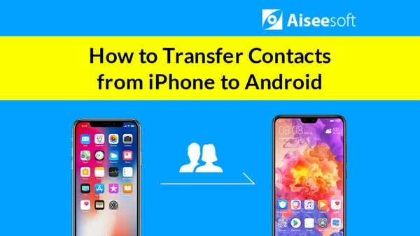 Μεταφορά βίντεο iPhone Επαφές σε Android