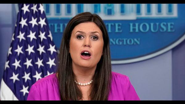 Ενημέρωση Τύπου του Λευκού Οίκου με τη Γραμματέα Τύπου Sarah Huckabee Sanders