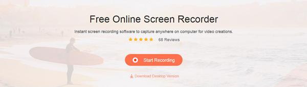 Apeaksoft gratis online schermrecorder