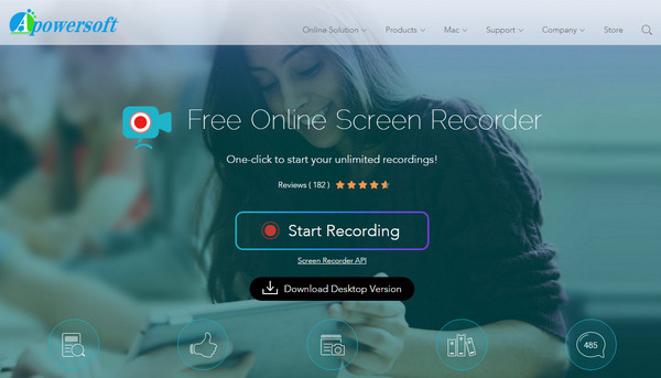 Preview of Free Online Screen Recorder