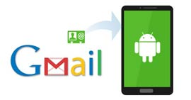 Restore Android Contacts from Gmail