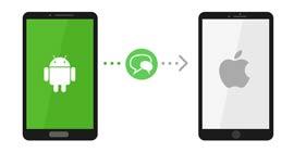 Przenieś SMS-a z Androidem na iPhone'a